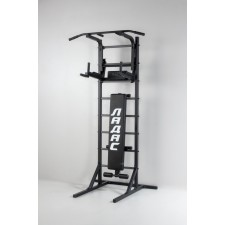 Комбинированная передвижная гимнастическая стенка «Универсал» (чёрный)