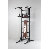 Комбинированная передвижная гимнастическая стенка Универсал /СТУП/ коричневый ТМ Ладас