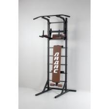 Комбинированная передвижная гимнастическая стенка «Универсал»  (коричневый)