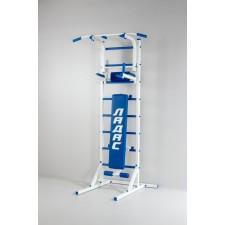 Комбинированная передвижная гимнастическая стенка «Универсал» (синий)