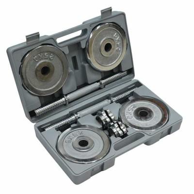 Домашний гантельный набор FitLogic Home Dumbbell Steel Set Box