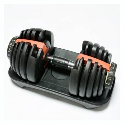 Домашняя наборная гантель FitLogic Adjustable dumbbell on the stand 24 кг