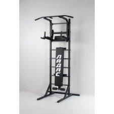 Комбинированная передвижная гимнастическая стенка Универсал /СТУП/ черный ТМ Ладас
