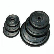 Домашние обрезиненные диски Fitlogic Rubber Plate DB6031